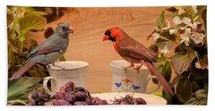 Cardinal Coffee Bath Towel