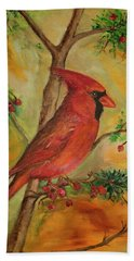 Cardinal Hand Towel