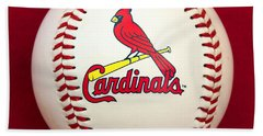 Cardinals Bath Towel by Steve Stuller