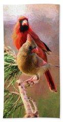 Cardinals2 Hand Towel
