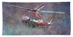Care Flight Hand Towel
