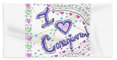 Caring Heart Hand Towel