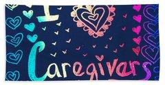 Caregiver Rainbow Bath Towel