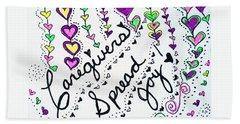 Caregivers Spread Joy Bath Towel