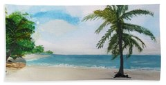 Caribbean Beach Bath Towel