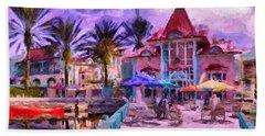 Caribbean Beach Resort Hand Towel