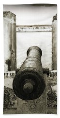 Caribbean Cannon Bath Towel