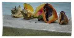 Hand Towel featuring the photograph Caribbean Charisma by Karen Wiles