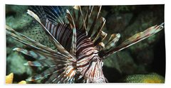 Caribbean Lion Fish Bath Towel