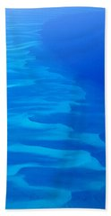 Caribbean Ocean Mosaic  Hand Towel by Jetson Nguyen