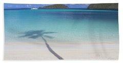 Caribbean Shadow Hand Towel