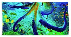 Caribbean Tropical Reef Bath Towel