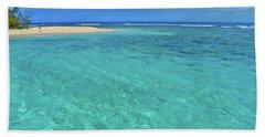 Caribbean Water Hand Towel by Scott Mahon