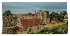 Carisbrooke Castle Isle Of Wight Bath Towel