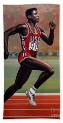 Carl Lewis Bath Towel