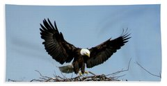 Cape Vincent Eagle Bath Towel