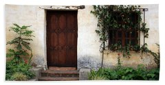 Carmel Mission Door Hand Towel