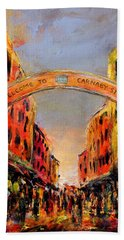 Carnaby Street London Bath Towel