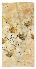 Carnival Masquerade Jewels Bath Towel