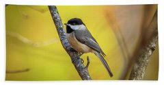 Carolina Chickadee Bath Towel