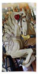 Carousel Belle Hand Towel by Melanie Alexandra Price