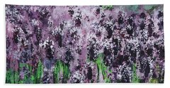 Carpet Of Lavender Bath Towel