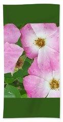 Carpet Of Pink Bath Towel