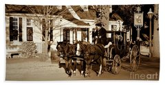 Bath Towel featuring the photograph Carriage Ride by Patti Whitten