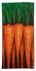 Carrots Bath Towel