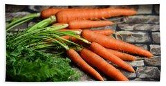 Carrots Hand Towel