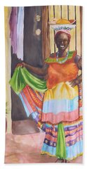 Cartegena Woman Bath Towel