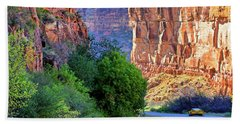 Bath Towel featuring the photograph Carving The Canyons - Unaweep Tabeguache - Colorado by Jason Politte