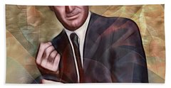 Cary Grant - Square Version Hand Towel