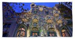 Casa Batllo In Barcelona Bath Towel