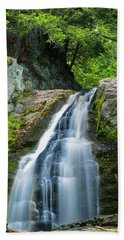 Cascade Falls In South Portland In Maine Bath Towel