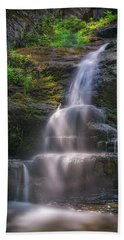 Hand Towel featuring the photograph Cascade Falls, Saco, Maine by Rick Berk