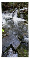Cascade Falls Stream, Farmington, Maine  -30329 Hand Towel