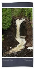 Cascade River Scrapbook Page Hand Towel by Heidi Hermes