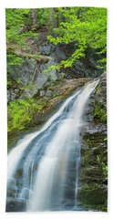 Bath Towel featuring the photograph Cascade Waterfalls In South Maine by Ranjay Mitra