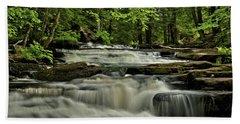 Cascades In The Rain Hand Towel