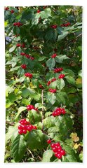 Cascading Berries Hand Towel