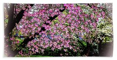 Cascading Dogwood Copyright Mary Lee Parker 17, Bath Towel