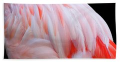 Bath Towel featuring the photograph Cascading Feathers by Elvira Butler