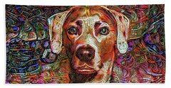 Cash The Lacy Dog Hand Towel