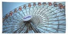 Casino Pier Ferris Wheel Bath Towel