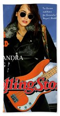 Cassandra Wong, Rolling Stone,  Wayne's World, Tia Carrere, Aurora, Il, 1992, Audition Fender  Bath Towel
