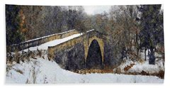 Casselman River Bridge Bath Towel
