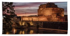 Castel St Angelo  Hand Towel