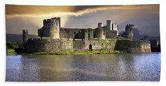 Castle At Dawn Hand Towel