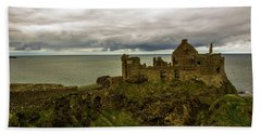 Castle By The Sea Hand Towel
